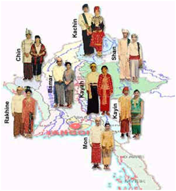 Myanmar S Traditional Clothing Sydney Language Solutions
