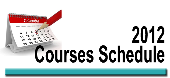 OET Course Schedule 2012