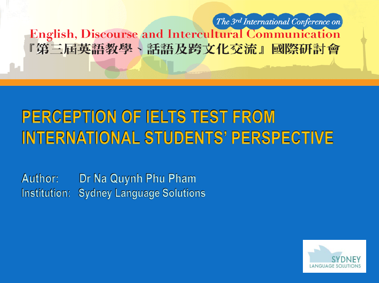 IELTS Presentation