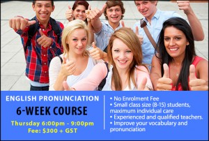6-weeks- English pronunciation