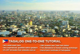 Improve your Tagalog language skills with tailored private tutorials in Sydney CBD. Flexible times are available to suit your needs.