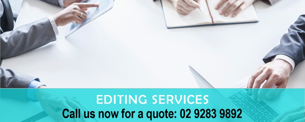 Language editing services
