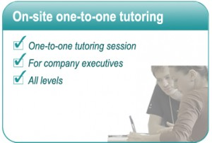 On site one-to-one tutoring