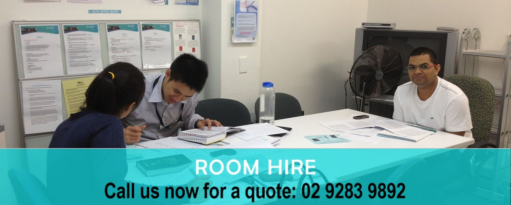 Room hire copy