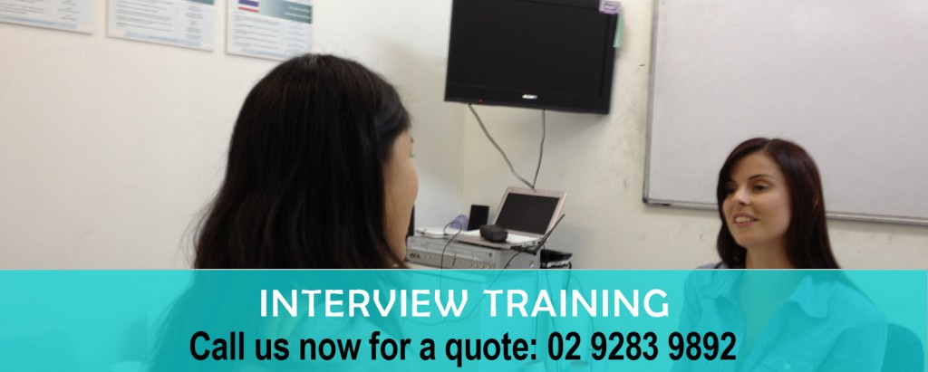 Interview training copy