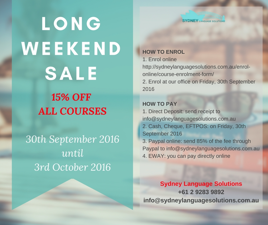 long-weekend-sale-30th-sept-3rd-oct-2016