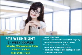 Prepare for the PTE Exam with an intensive course in Sydney CBD. Learn key exam skills and strategies to enhance your chances of successful PTE results.