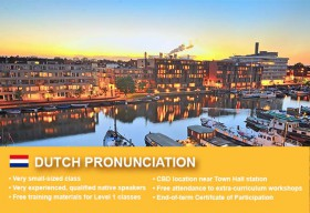 Affordable Dutch Pronunciation Course in Sydney CBD. Improve your speaking skills in a small class with free learning materials!