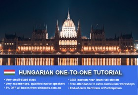Improve your Hungarian language skills with tailored private tutorials in Sydney CBD. Flexible times are available to suit your needs.