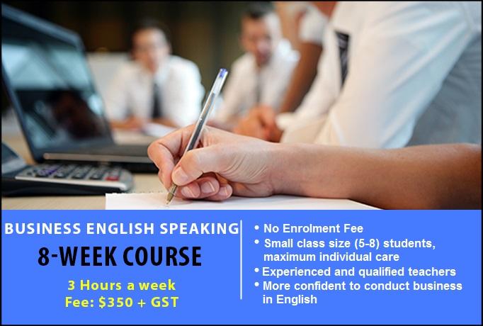 Business English 8 Week Weeknight Speaking Sydney