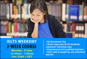 IELTS 2-week weekday