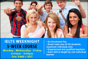 IELTS 5-Week Weeknight