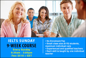 IELTS 9-Week Sunday