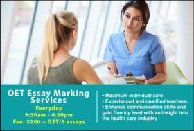 OET Essay Marking Services