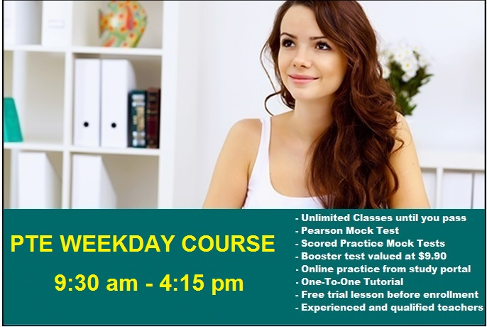 PTE Weekday Course | Sydney Language Solutions