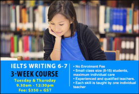IELTS 3-week writing band 6-7