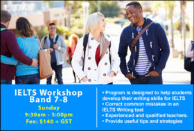IELTS workshop band 7-8