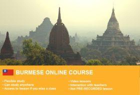 1-Burmese-Beginner-1-online course