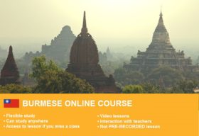 1-Burmese-Beginner-1-online course
